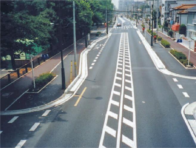 【道路】青木町公園通り自動車歩道整備工事